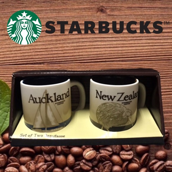 Starbucks Set of Two Demitasse Cups